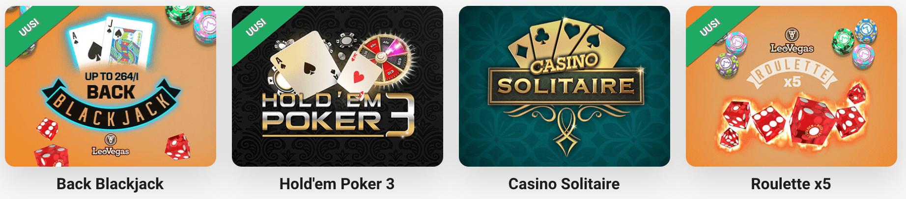 Pay N Play Kasinopelit