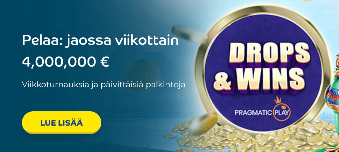 Drops and Wins Pelaa kasinolla